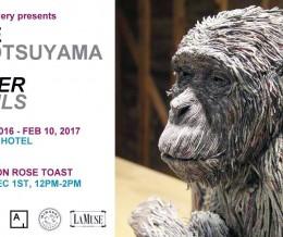 """""""Eleven chimpanzees"""" at The Epic Hotel Miami"""